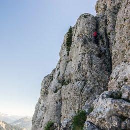 Alpinismo e arrampicata nel Ubaye ©Théo Giacometti