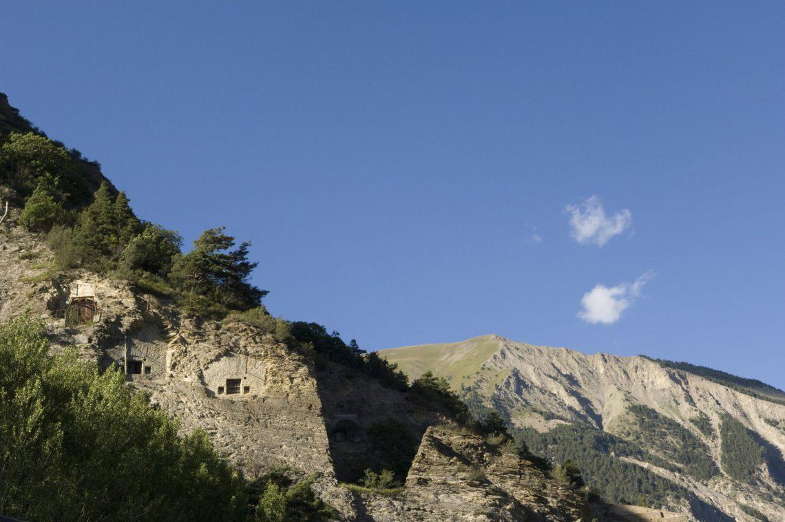 Il Forte di Tournoux nella Vallata del l'Ubaye. Maginot ©M. Boutin