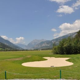 golf in bois chenu in Barcelonnette