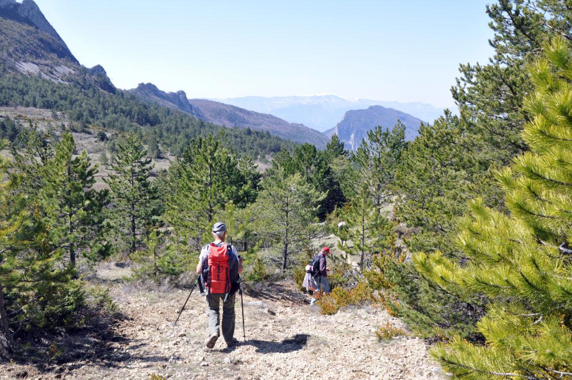 La Grande Traversée des Préalpes (Grande traversata delle Prealpi) – GTPA 190 km©AD04/GBe