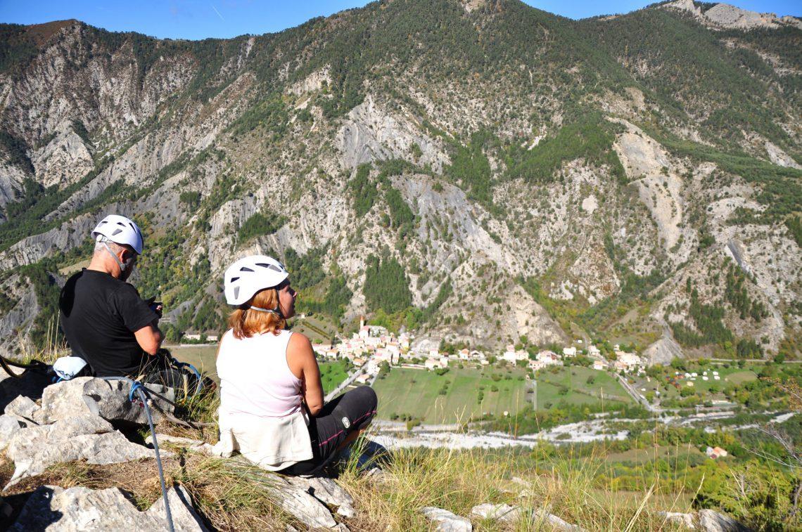 Via ferrata nella roccia-Meichira in Prads-Haute-Bléone