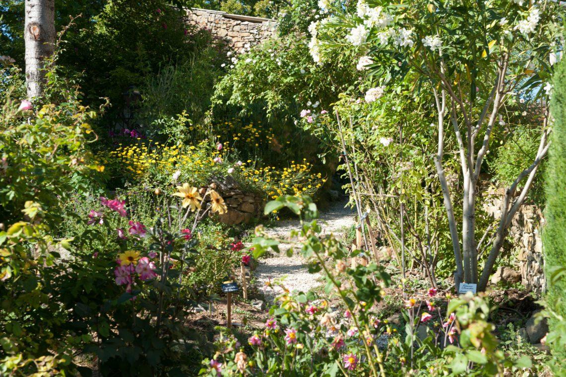 Parchi e giardini Abbaye de Valsainte Simiane-la-Rotonde © Mir
