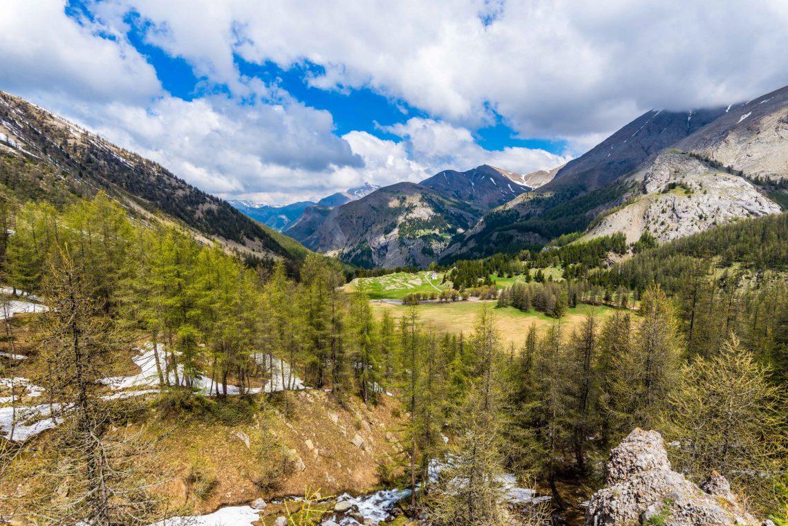 al lago di allos nelle Parco nazionale del Mercantour ©T Verneuil