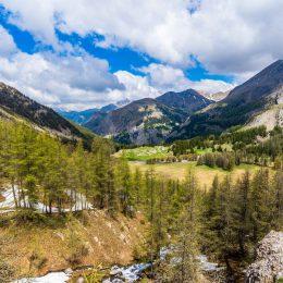 Paysage du Mercantour vers le lac d'Allos ©T Verneuil