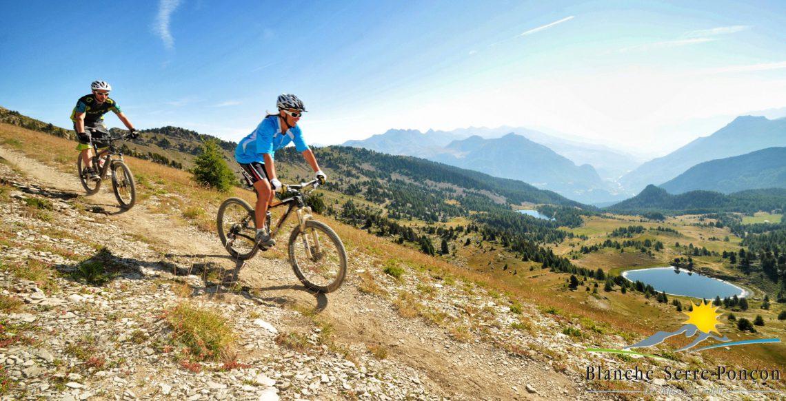 Base mountain-bike Blanche – Serre-Ponçon ©OT