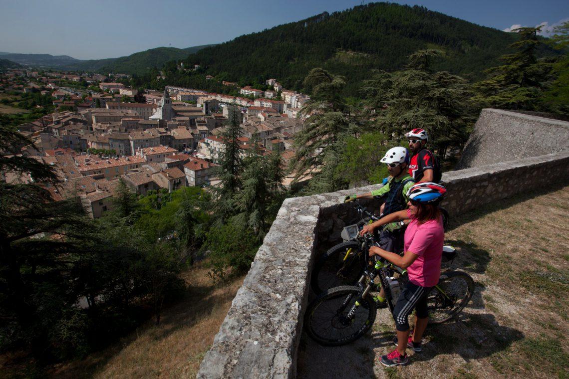 Sito di Mountain-bike Buech Sisteronnais ©Michel Delli Photographies