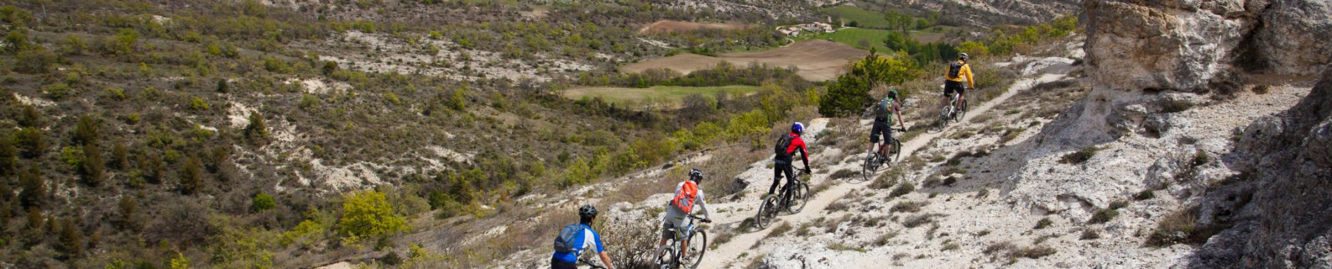Sito mountain-bike regione di Forcalquier Montagna di Lure ©Michel Delli Photographies