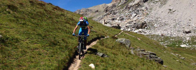 Sito mountain-bike della valle dell'Ubaye