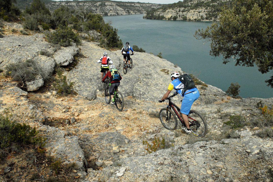 Sito Mountain-bike Provenza Verdon MBK ©William Fautre