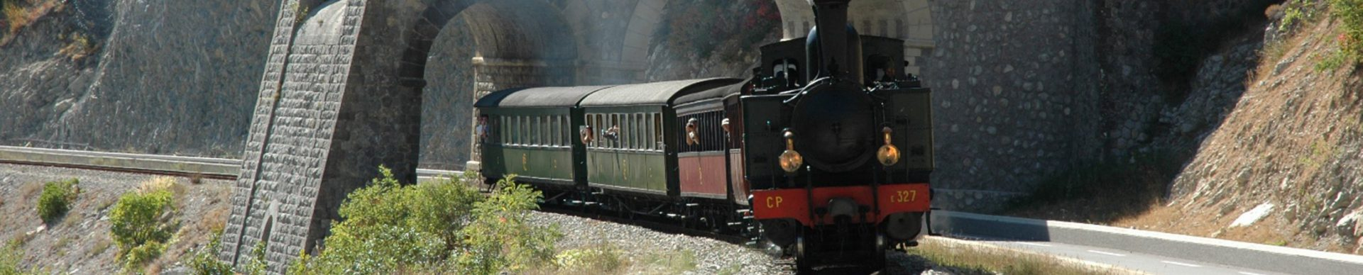 Train des Pignes à vapeur © GECP Accesso e trasporti