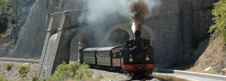 Train des Pignes à vapeur © GECP