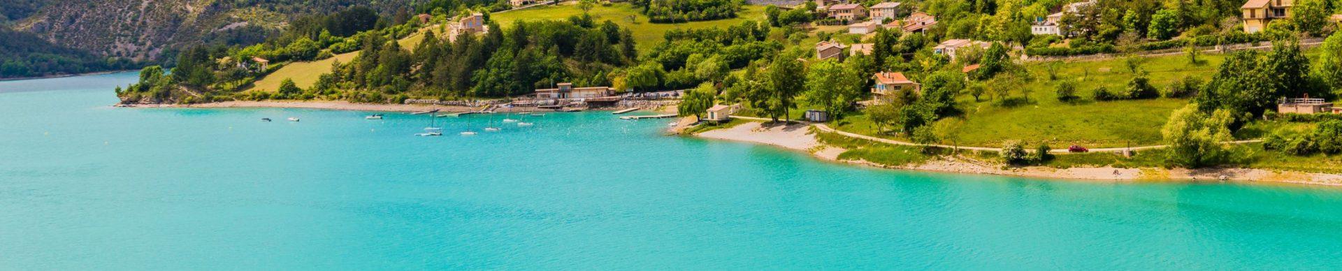 I laghi del Verdon : laghi di Castillon ©T. Verneuil
