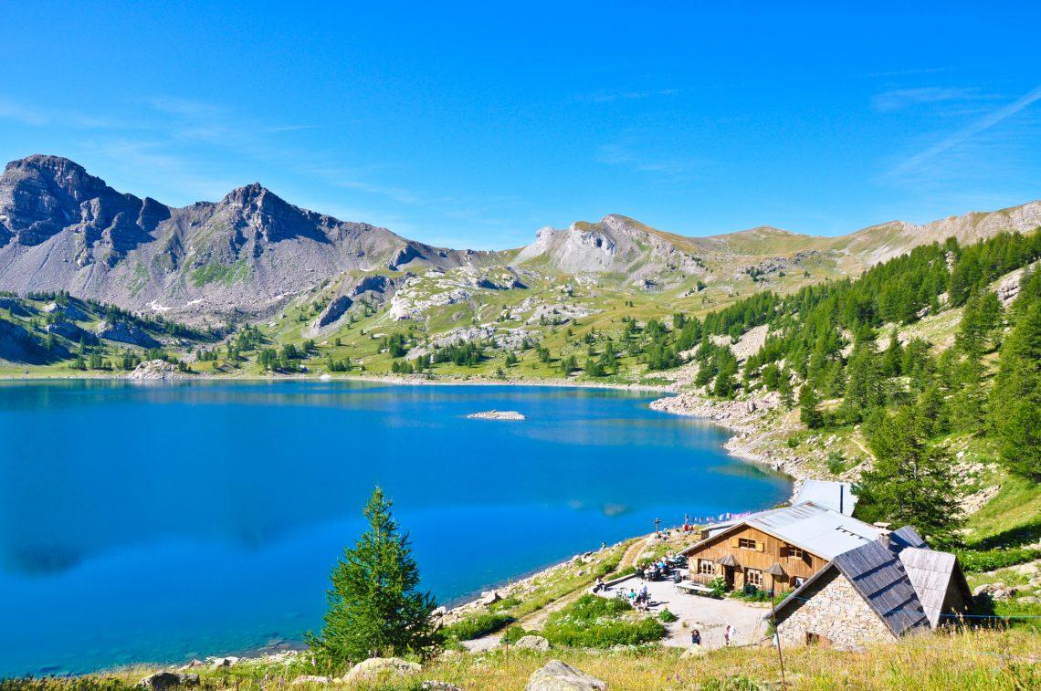 il lago di Allos gioiello del Parco nazionale del Mercantour