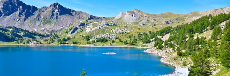 lac d'Allos in Mercantour National Park