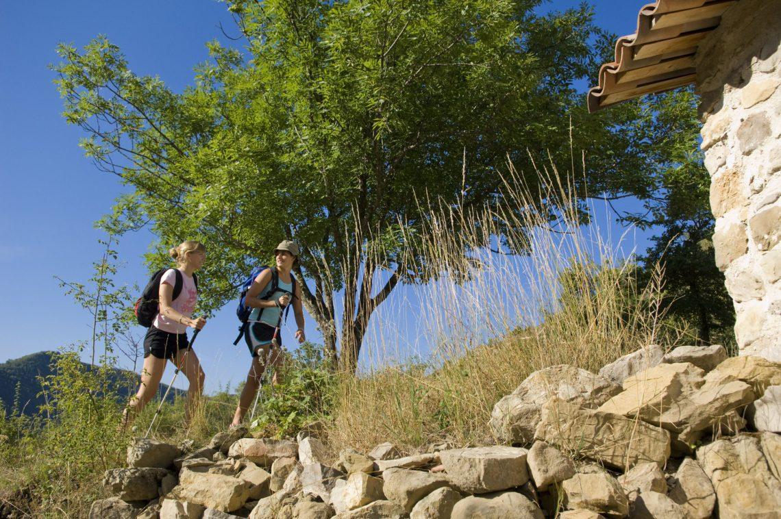 trekking e di escursioni a piedi - Vieil Esclagon ©M. Boutin