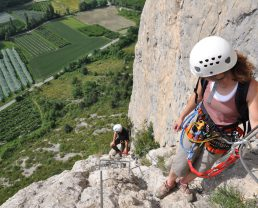 Via ferrata of Grande Fistoire
