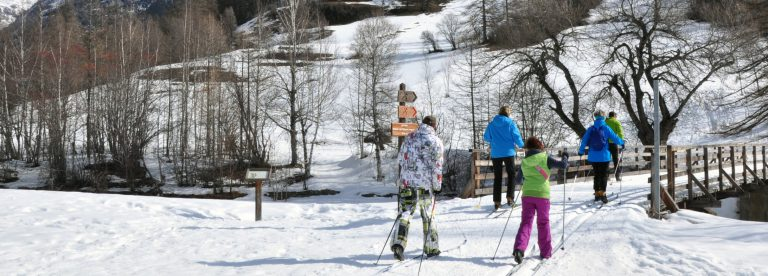 Cross-country skiing sites Saint-Paul-sur-Ubaye