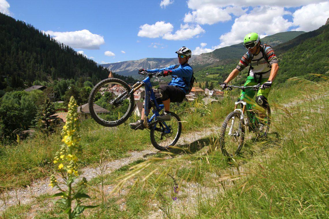 Sito mountain-bike Val d'Allos – Haut-Verdon ©VTOPO
