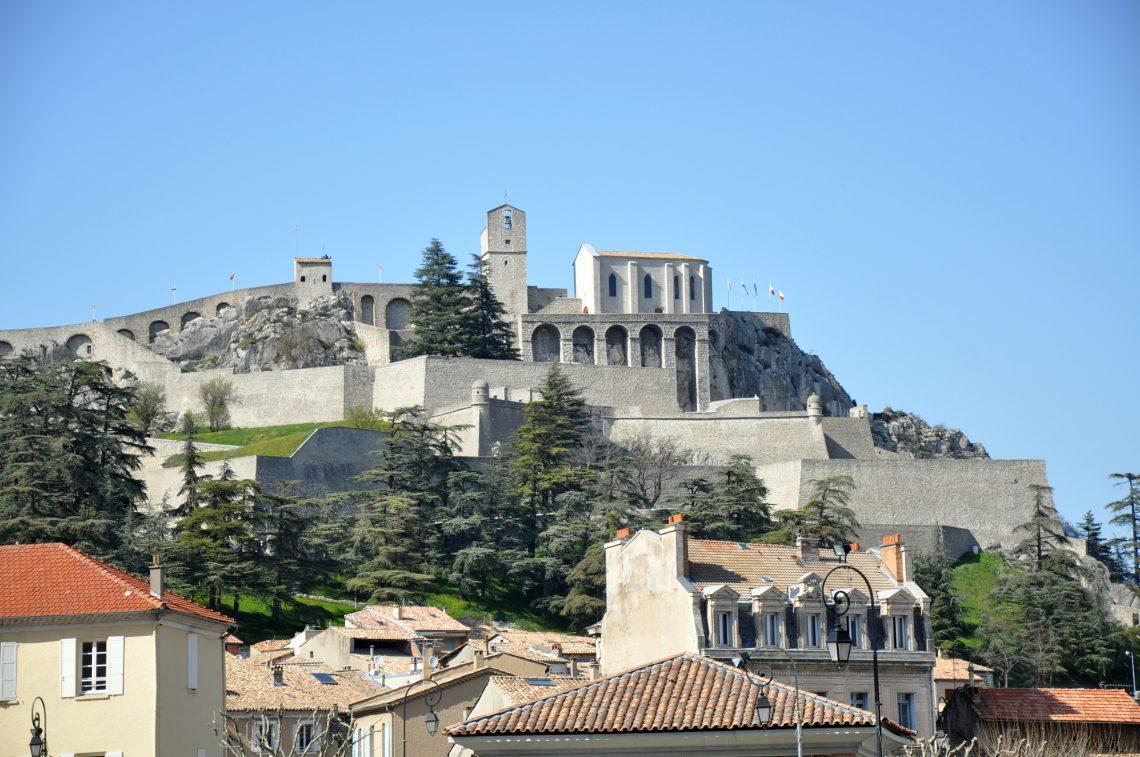 Sisteron, la cittadella della valle della Durance Vauban ©AD04/BC