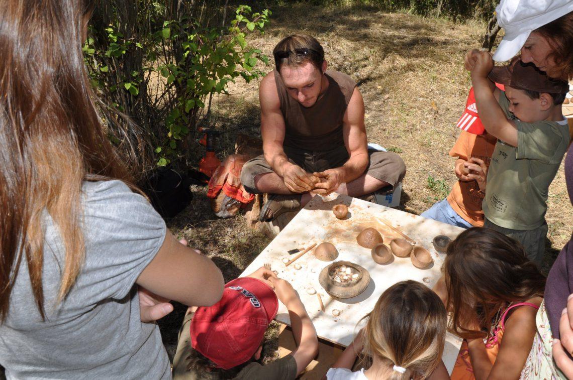 Giornata della preistoria a Quinson