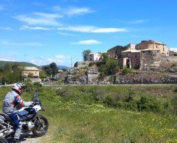 Itinerari per motocicletta in Haute Provence