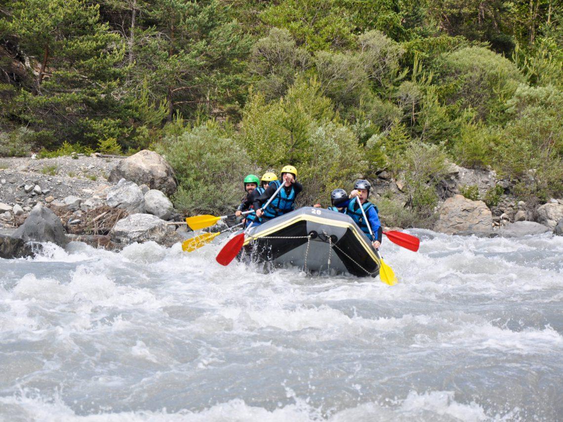 rafting nelle Fiumi Ubaye