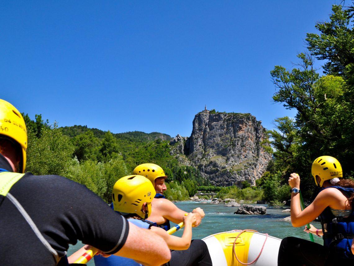 rafting sul Verdon