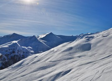 alpine skiing resort Val d'Allos La Foux Espace Lumière