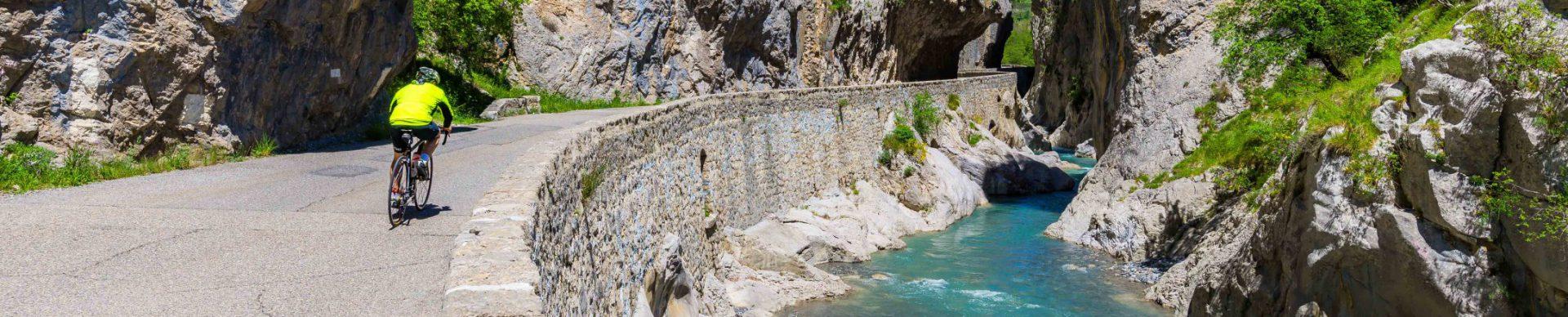 itinerari cicloturistica Clues de Barles