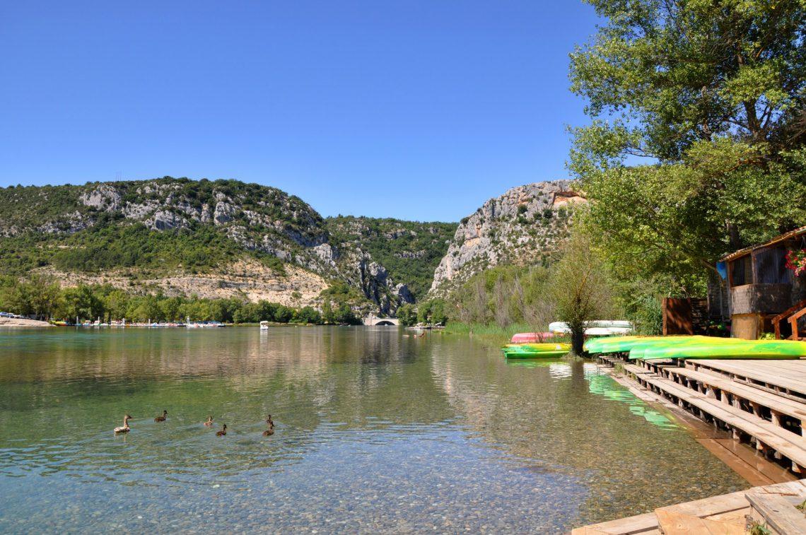 Il lago di Quinson