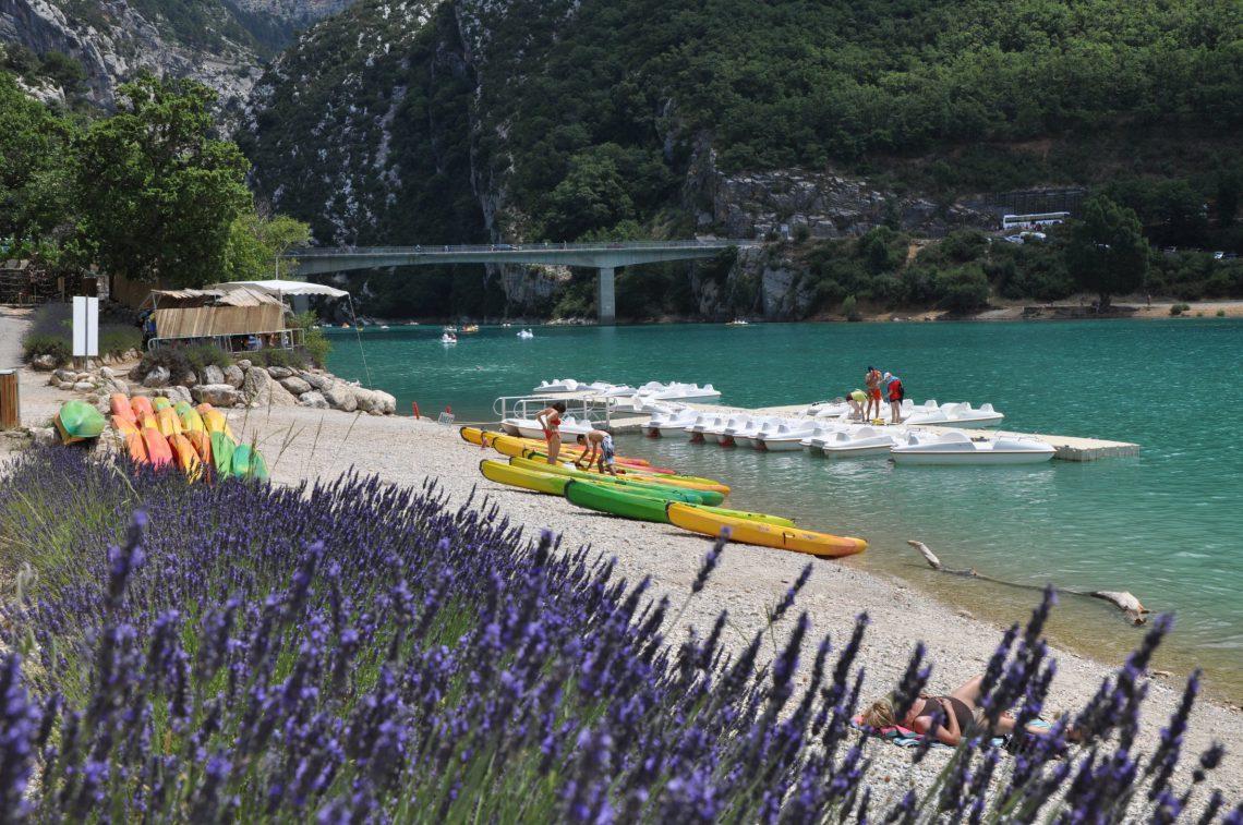 Sport nautici: Lago di Sainte-Croix-du-Verdon