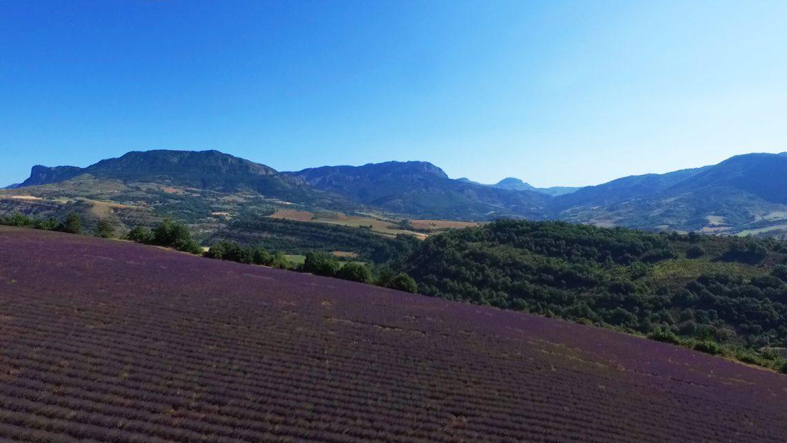Thoard, un paesaggio UNESCO Géoparc di Haute-Provence