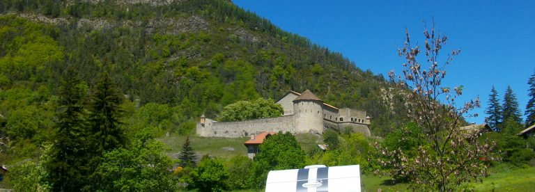 Aree di servizio in Colmars-les-Alpes ©ADT04/GBe