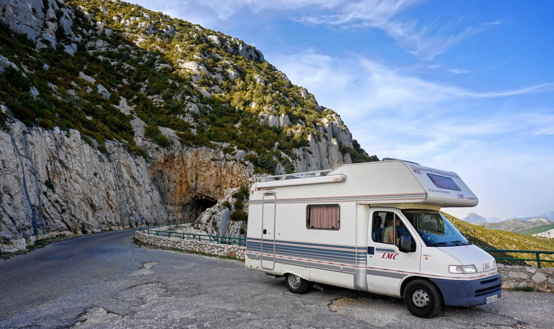 Abitazioni mobili / Camper nelle Verdon ©creative commons CC0