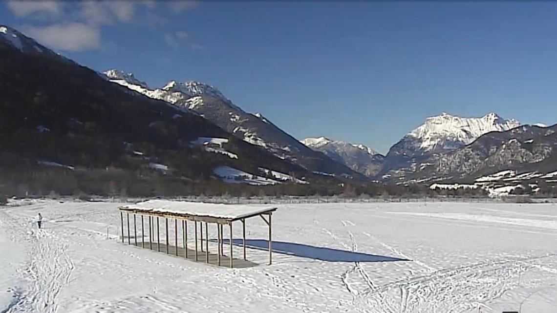 Webcam Barcelonnette - Siti per lo sci di fondo golf du Bois Chenu