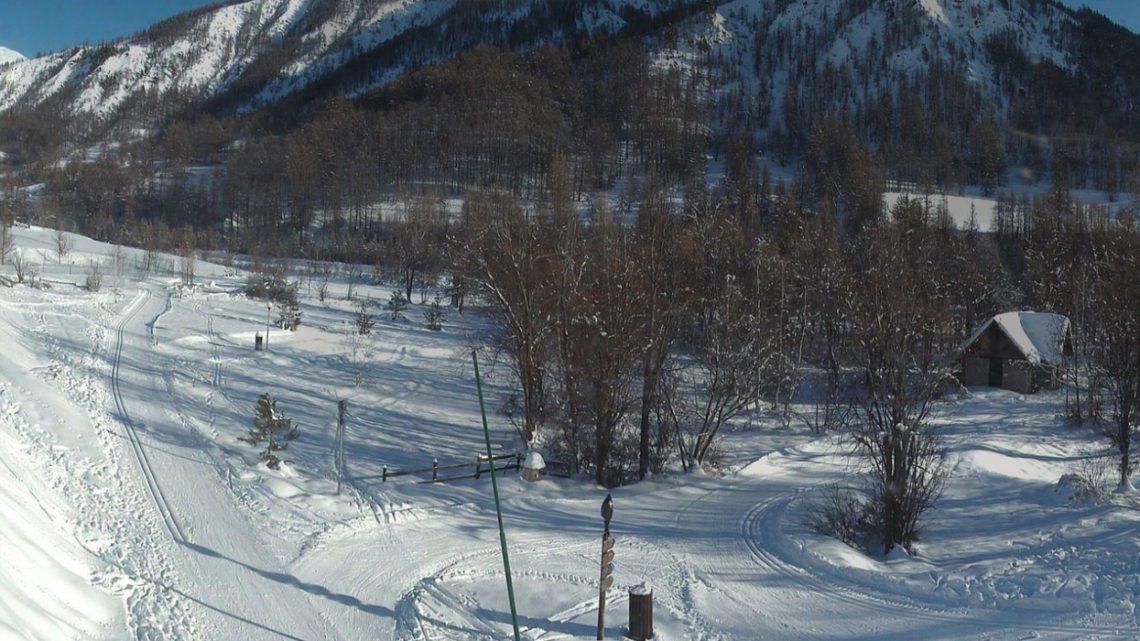 Webcam Saint-Paul-sur-Ubaye - Siti per lo sci di fondo - Haute Ubaye Valle