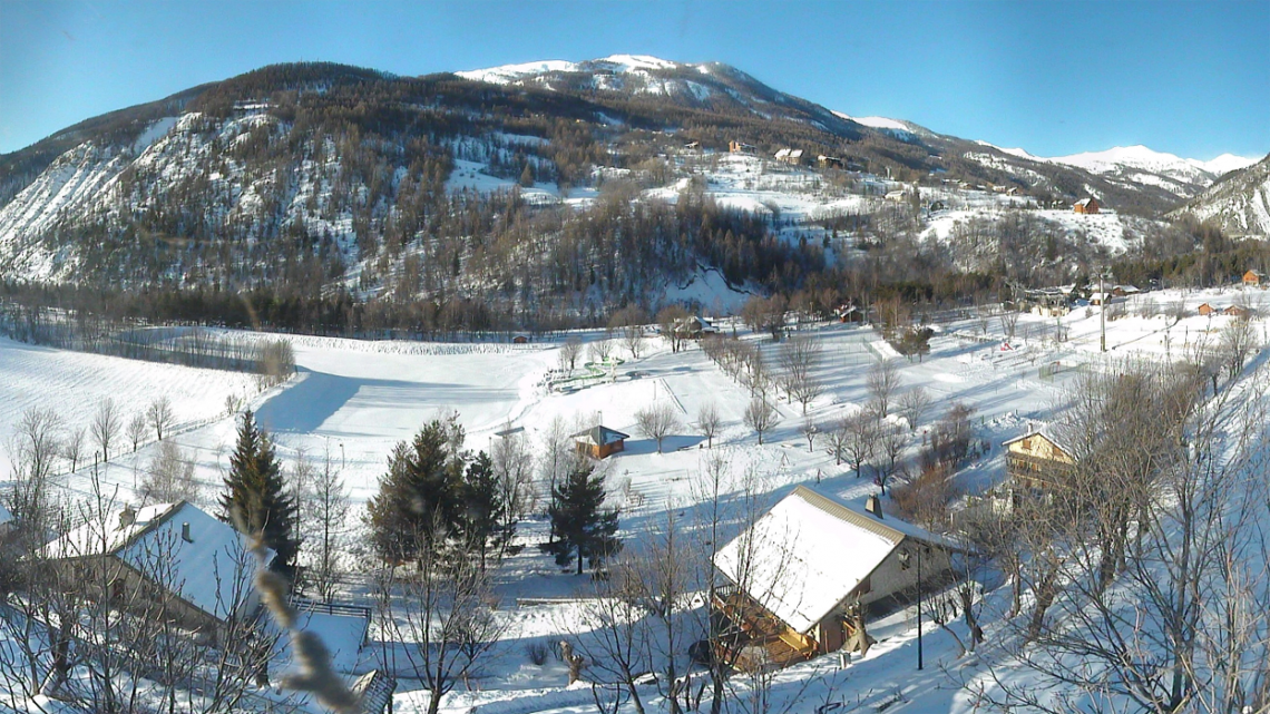 webcam villaggio Val d'Allos