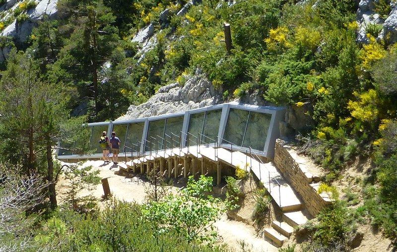 Sirenidi Castellane nelle Riserva naturale nazionale geologica di Haute-Provence © SA - CD Alpes de Haute-Provence