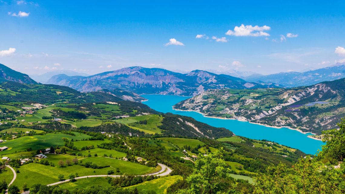 Lago di Serre-Ponçon ©Teddy Verneuil