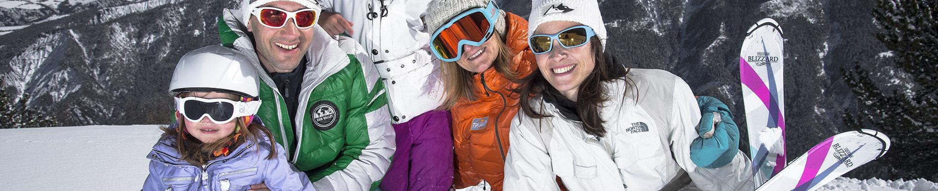 Famille ski ©AD04/ Manu Molle