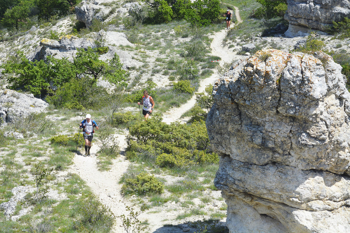 Trail running in Forcalquier - Lure ©Akuna Matata